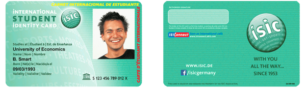 isic öğrenci kartı