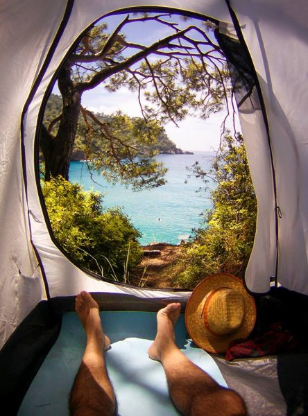 kabak koyu, kamp, çadır
