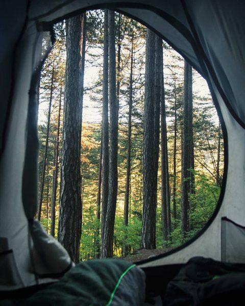 kaz dağları, kamp alanı