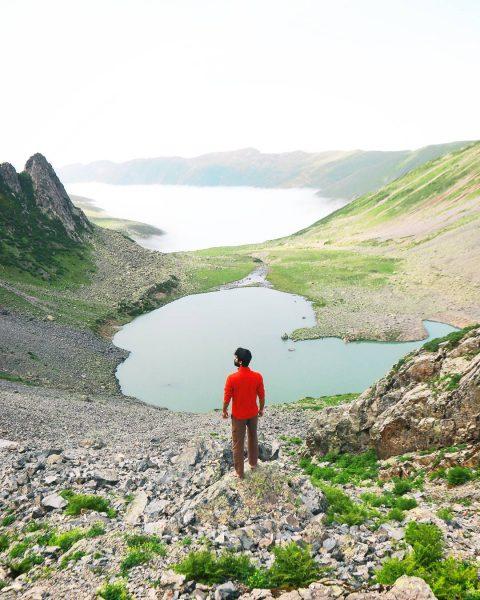 avusor gölü manzarası